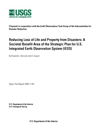 Reducing Loss of Life and Property from Disasters image
